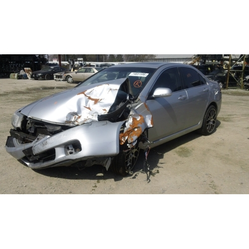 Used Acura TSX Parts Car Silver With Black Interior - Acura tsx parts