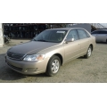 Used 2000 Toyota Avalon XL Parts Car - Gold with tan interior, 6 cylinder engine, automatic transmission