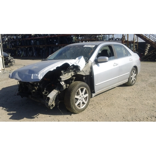 used 2003 honda accord parts car silver with black interior 4 cylinder engine automatic. Black Bedroom Furniture Sets. Home Design Ideas