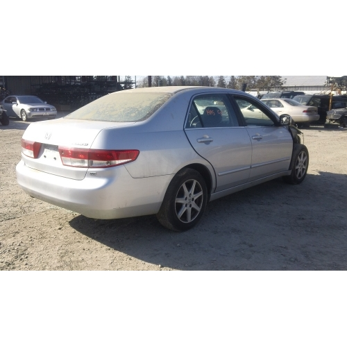 Used 2003 Honda Accord Parts Car   Silver With Black Interior, 4 Cylinder  Engine, Automatic Transmission
