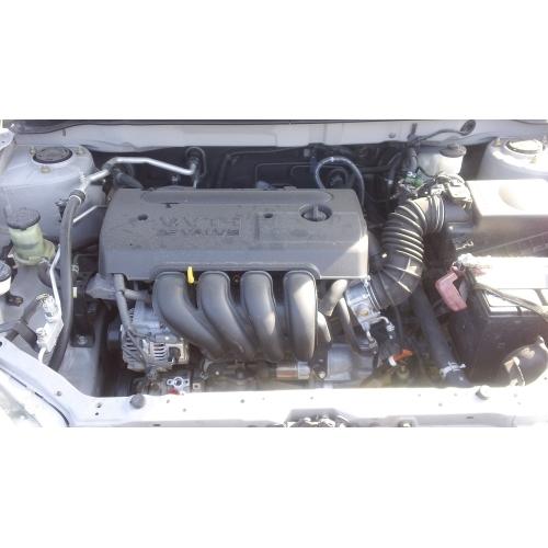 2005 Toyota Corolla Parts Car Silver With Gray Interior 4