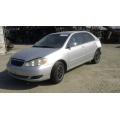 Used 2005 Toyota Corolla Parts Car - Silver with gray interior, 4 cylinder engine, Automatic transmission