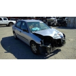 Used 2001 Honda Civic LX Parts Car - Silver with brown interior, 4 cylinder, automatic transmission*