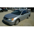 Used 2001 Honda Civic LX Parts Car - Silver with tan interior, 4 cylinder, automatic transmission**