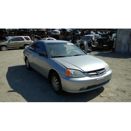 Used 2001 Honda Civic LX Parts Car   Silver With Tan Interior, 4 Cylinder,  Automatic Transmission**