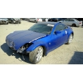 Used 2004 Nissan 350Z Parts Car - Blue with black interior, 6 cyl engine, Automatic transmission*