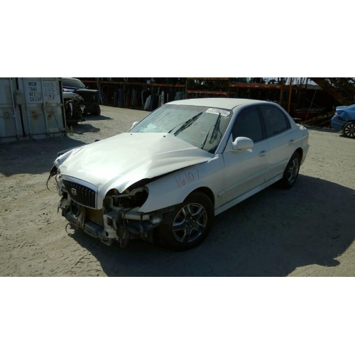 Hyundai Sonata Parts >> Used 2004 Hyundai Sonata Parts Car White With Brown Interior 4