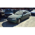 Used 2000 Honda Civic LX Parts Car - Green with brown interior, 4 cylinder engine, 5 Speed  transmission*