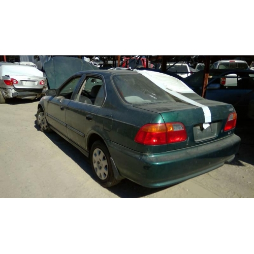 Used 2000 Honda Civic Lx Parts Car Green With Brown Interior 4 Cylinder Engine 5 Speed