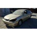 Used 2002 Toyota Camry Parts Car - Gold with tan interior, 6 cylinder engine, automatic transmission**