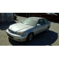 Used 2000 Honda Civic EX Parts Car - Silver with gray interior, 4 cylinder, 5 speed  transmission
