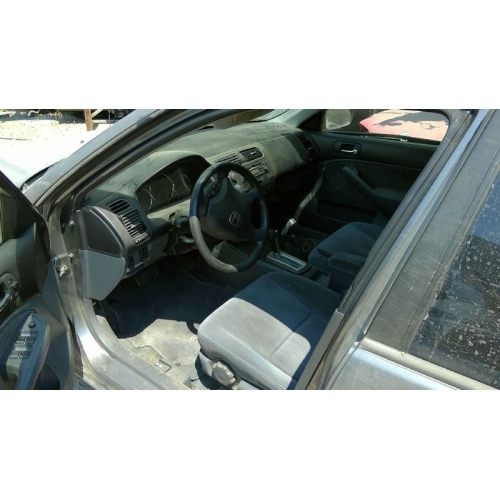 used 2005 honda civic lx parts car gray with gray interior 4 cylinder engine automatic. Black Bedroom Furniture Sets. Home Design Ideas
