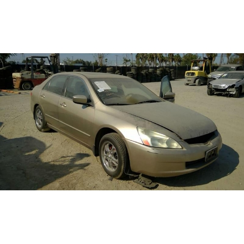 Used 2004 Honda Accord Ex Parts Car Gold With Tan Interior 6 Cylinder Automatic Transmission