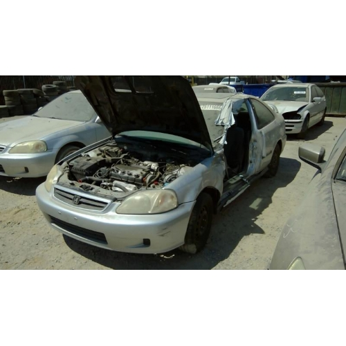 used 2000 honda civic ex parts car silver with gray interior 4 cylinder automatic transmission. Black Bedroom Furniture Sets. Home Design Ideas