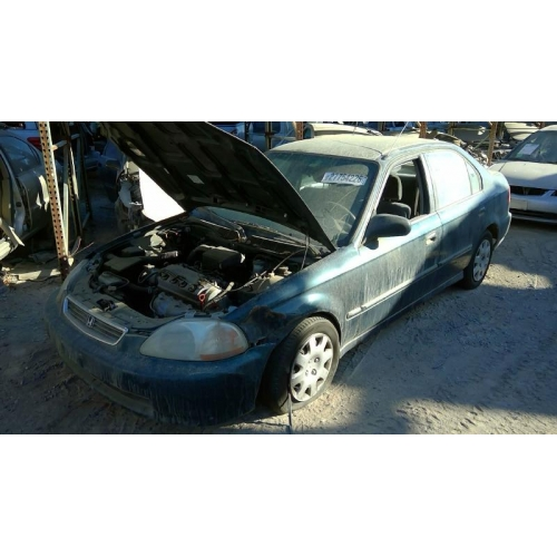 Used 1998 Honda Civic DX Parts Car   Green With Brown Interior, 4 Cylinder  Engine, 5 Speed Transmission