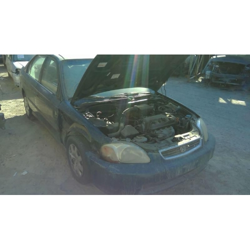 Used 1998 Honda Civic Dx Parts Car Green With Brown Interior 4 Cylinder Engine 5 Speed