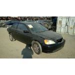 Used 2003 Honda Civic EX Parts Car - Black with black interior, 4 cylinder engine, Automatic transmission