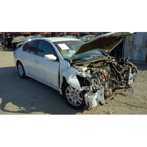 Used 2009 Nissan Altima Parts Car White With Tan Interior 4 Cyl Engine Automatic Transmission