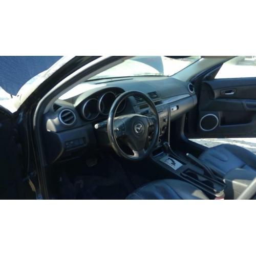 Used 2004 mazda 3 parts car black with black leather - 2004 mazda 3 interior accessories ...