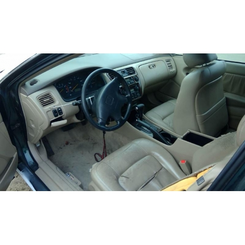 Used 2000 Honda Accord Parts Car White With Brown Interior 4 Cylinder Engine Automatic