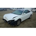 Used 2000 Honda Accord Parts Car - White with brown interior, 4 cylinder engine, Automatic transmission