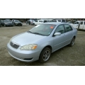 Used 2005 Toyota Corolla Parts Car - Silver with gray interior, 4 cylinder engine, Manual transmission