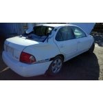 Used 2005 Nissan Sentra S Parts Car - White with tan interior, 4 cyl engine, Automatic transmission
