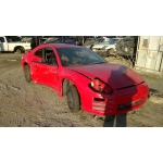 Used 2000 Mitsubishi Eclipse Parts Car - Red with black interior, 6 cylinder, automatic transmission