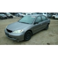 Used 2004 Honda Civic Parts Car - Gray with gray interior, 4 cylinder engine, Automatic transmission