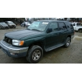 Used 2000 Toyota 4Runner Parts Car - Green with tan interior, 4 cyl engine, Automatic transmission