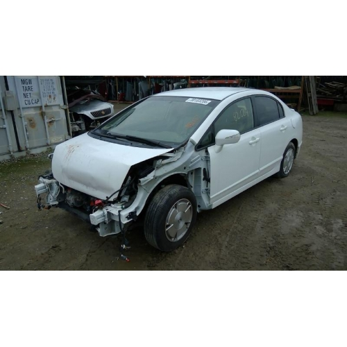 Used 2006 Honda Civic Mx Parts Car White With Tan Interior 4 Cylinder Engine Automatic