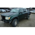 Used 1999 Toyota Tacoma Parts Car - Green with brown interior, 6 cyl engine, Manual transmission