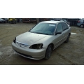 Used 2001 Honda Civic DX Parts Car - Gold with tan interior, 4 cylinder engine, automatic transmission