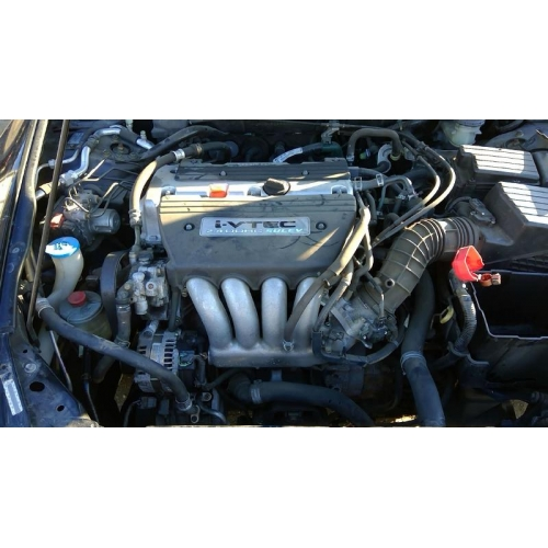Used 2004 Honda Accord Ex Parts Car Black With Tan Interior 4 Cylinder Automatic Transmission