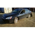 Used 2004 Honda Accord EX Parts Car - Black with tan interior, 4 cylinder, Automatic transmission