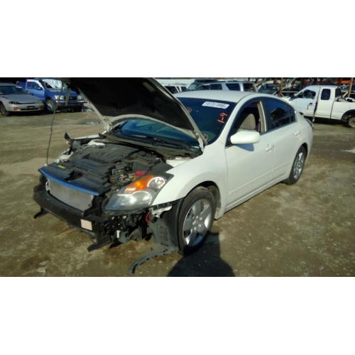 Used 2007 Nissan Altima Parts Car   White With Gray Interior, 4 Cyl Engine,  Automatic Transmission