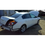 Used 2007 Nissan Altima Parts Car - White with gray interior, 4 cyl engine, Automatic transmission
