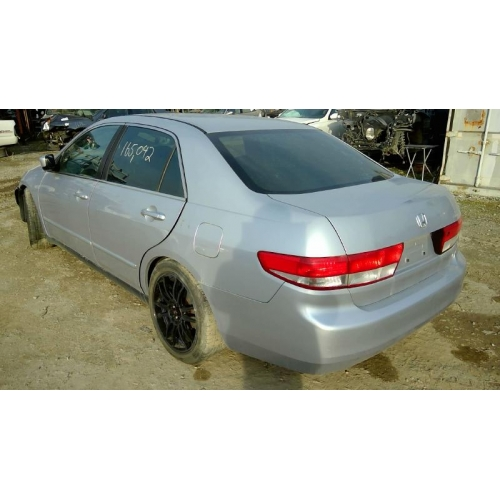 Used 2004 Honda Accord Lx Parts Car Silver With Gray Interior 4 Cylinder Automatic Transmission