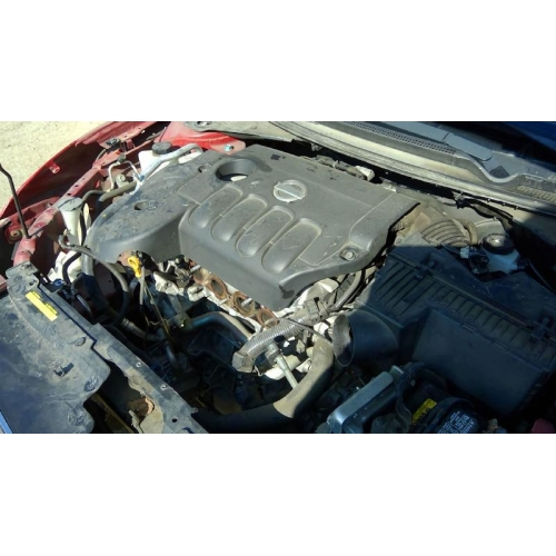 Used 2009 Nissan Altima Parts Car Red With Black Interior 4 Cyl Engine Automatic Transmission