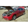 Used 2009 Nissan Altima Parts Car - Red with black interior, 4 cyl engine, Automatic transmission