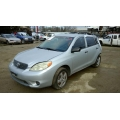 Used 2006 Toyota Matrix Parts Car - Silver with black interior, 4 cylinder engine, Automatic transmission