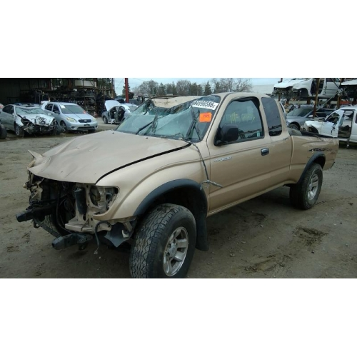 Used 2000 Toyota Tacoma Parts Car Gold With Tan Interior 6 Cyl Engine Manual Transmission