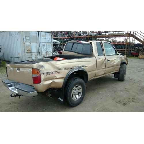 used 2000 toyota tacoma parts car gold with tan interior 6 cyl rh fresno taprecycling com 2000 toyota tacoma manual locking hubs 2000 toyota tacoma manual transmission
