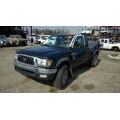 Used 2001 Toyota Tacoma Parts Car - Green with gray interior, 6 cyl engine, manual transmission