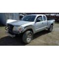 Used 2008 Toyota Tacoma Parts Car - Silver with gray interior, 6 cyl engine, 6 speed manual transmission