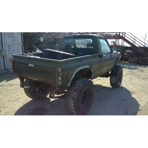 Toyota Truck Aftermarket Parts: Used 1981 Toyota Pickup Parts Car