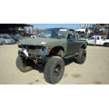Used 1981 Toyota Pickup Parts Car - Black with blue interior, 4 cylinder engine, manual transmission