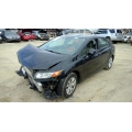 Used 2012 Honda Civic Parts Car - Black with gray interior, 4 cylinder engine, Automatic transmission