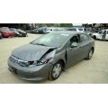 Used 2012 Honda Civic MX Parts Car - Gray with gray interior, 4 cylinder engine, Automatic transmission