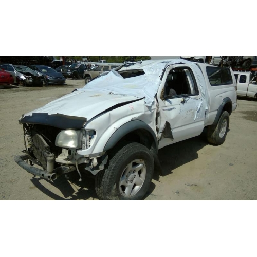 used 2001 toyota tacoma parts car white with gray interior 6 cyl rh fresno taprecycling com 2001 toyota tacoma manual transmission for sale 2001 toyota tacoma double cab manual transmission